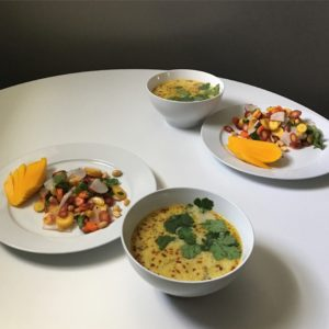 Tom Kha and Thai Carrot Salad