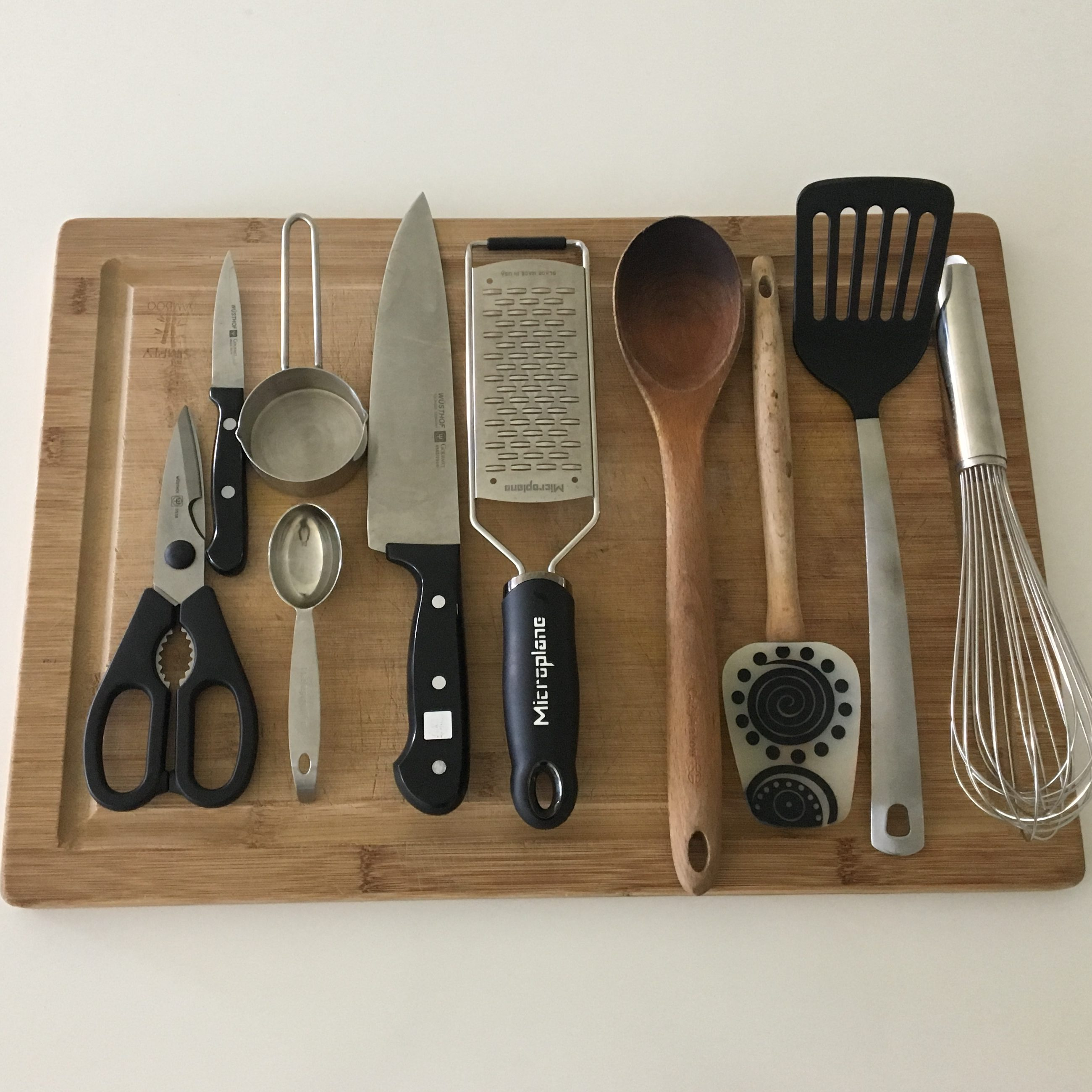 Minimalist kitchen essentials